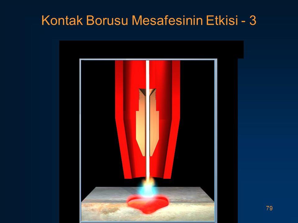 Kontak Borusu Mesafesinin Etkisi - 3