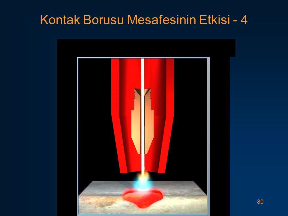 Kontak Borusu Mesafesinin Etkisi - 4
