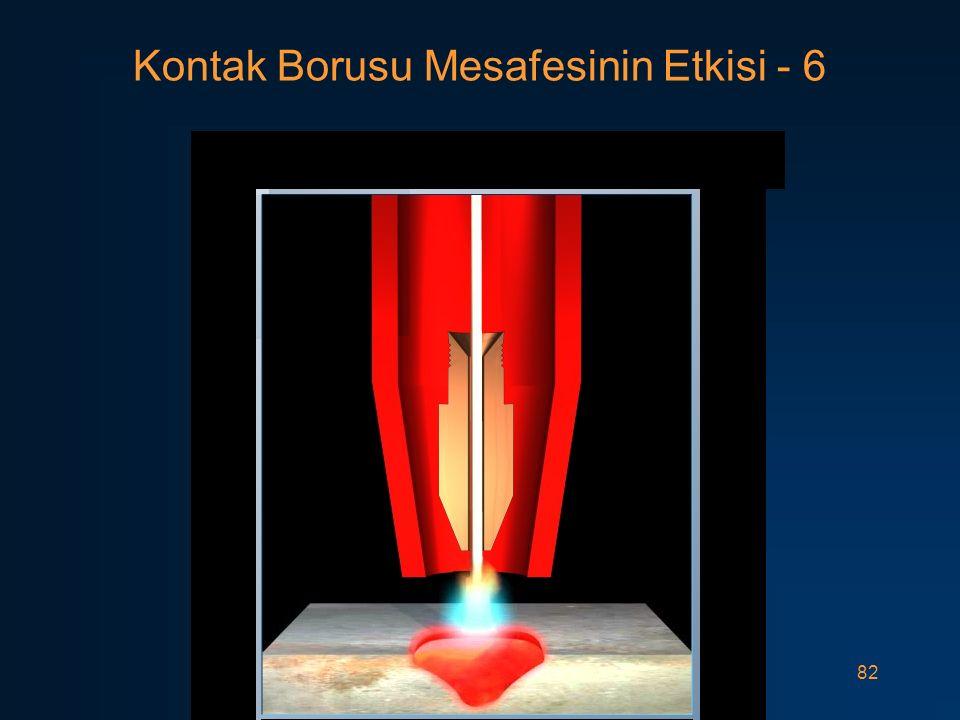 Kontak Borusu Mesafesinin Etkisi - 6