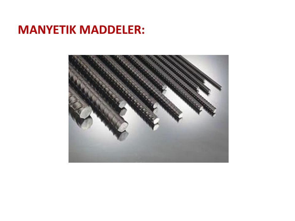 Manyetik Maddeler:
