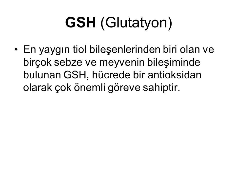 GSH (Glutatyon)