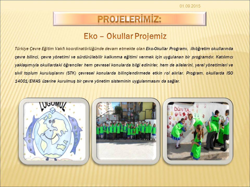 PROJELERİMİZ: Eko – Okullar Projemiz
