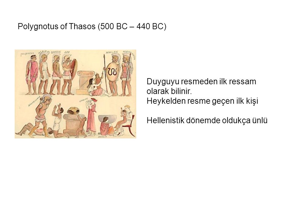 Polygnotus of Thasos (500 BC – 440 BC)