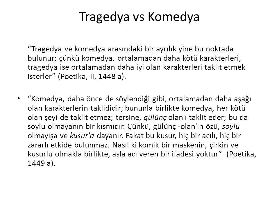 Tragedya vs Komedya