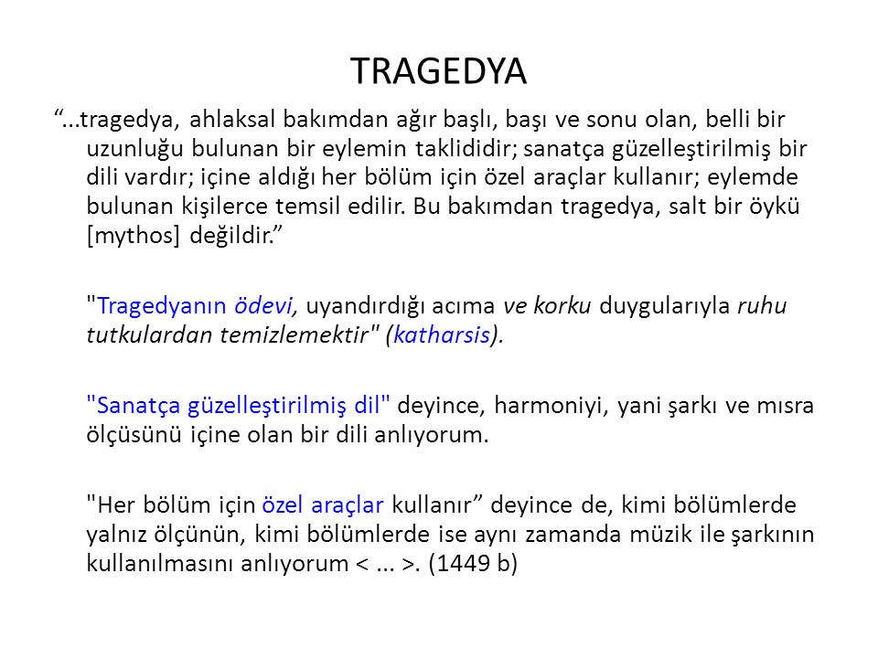 TRAGEDYA