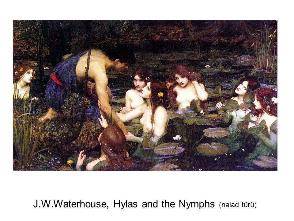 J.W.Waterhouse, Hylas and the Nymphs (naiad türü)