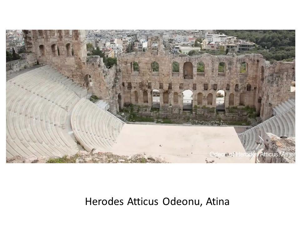 Herodes Atticus Odeonu, Atina
