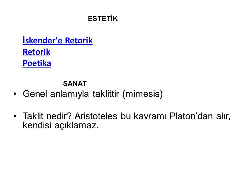 İskender e Retorik Ῥητορικὴ πρὸς Ἀλέξανδρον