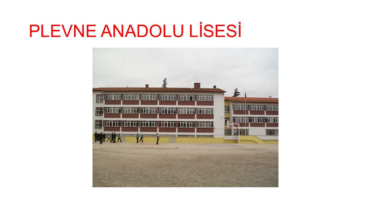 PLEVNE ANADOLU LİSESİ