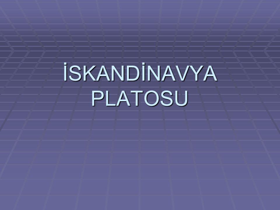 İSKANDİNAVYA PLATOSU
