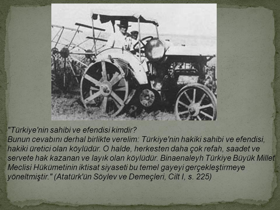 Türkiye nin sahibi ve efendisi kimdir