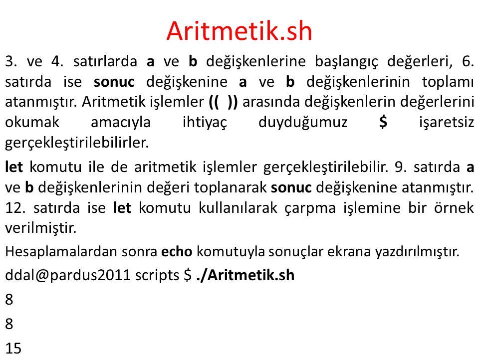 Aritmetik.sh