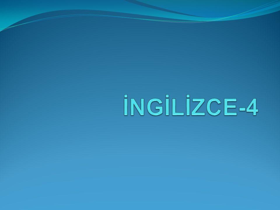 İNGİLİZCE-4