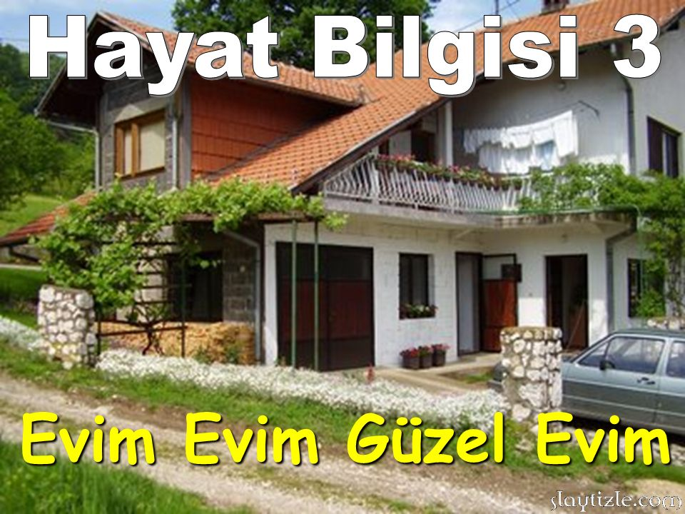 Hayat Bilgisi 3 Evim Evim Güzel Evim