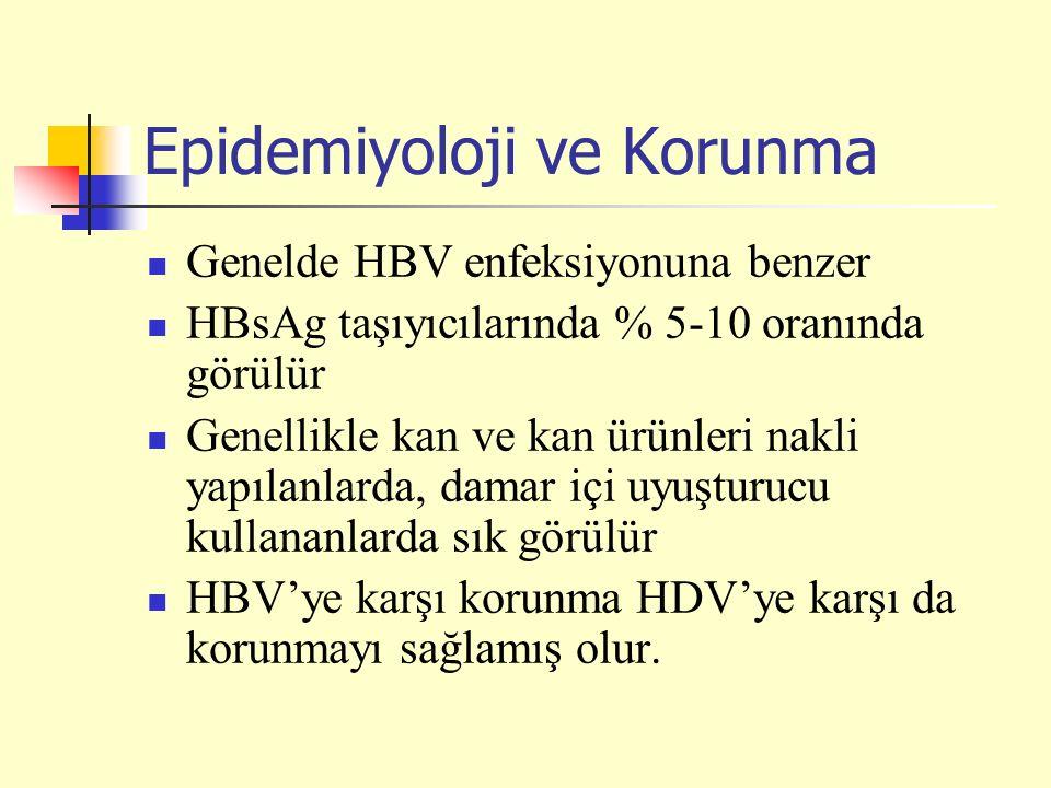 Epidemiyoloji ve Korunma