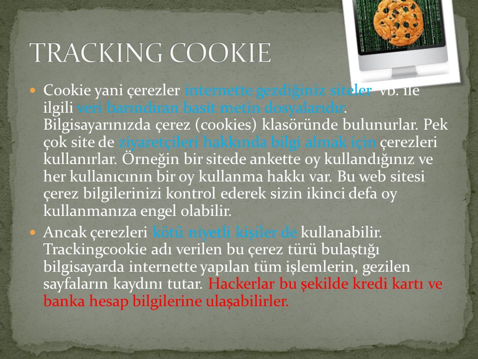 TRACKING COOKIE