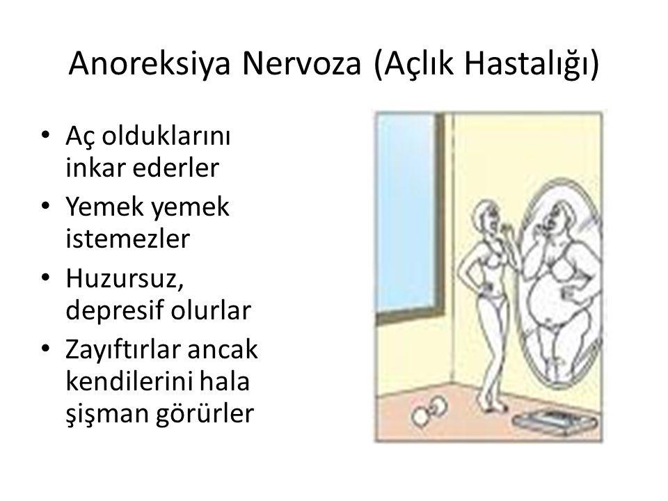 Anoreksiya Nervoza (Açlık Hastalığı)