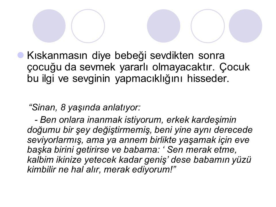 Sinan, 8 yaşında anlatıyor: