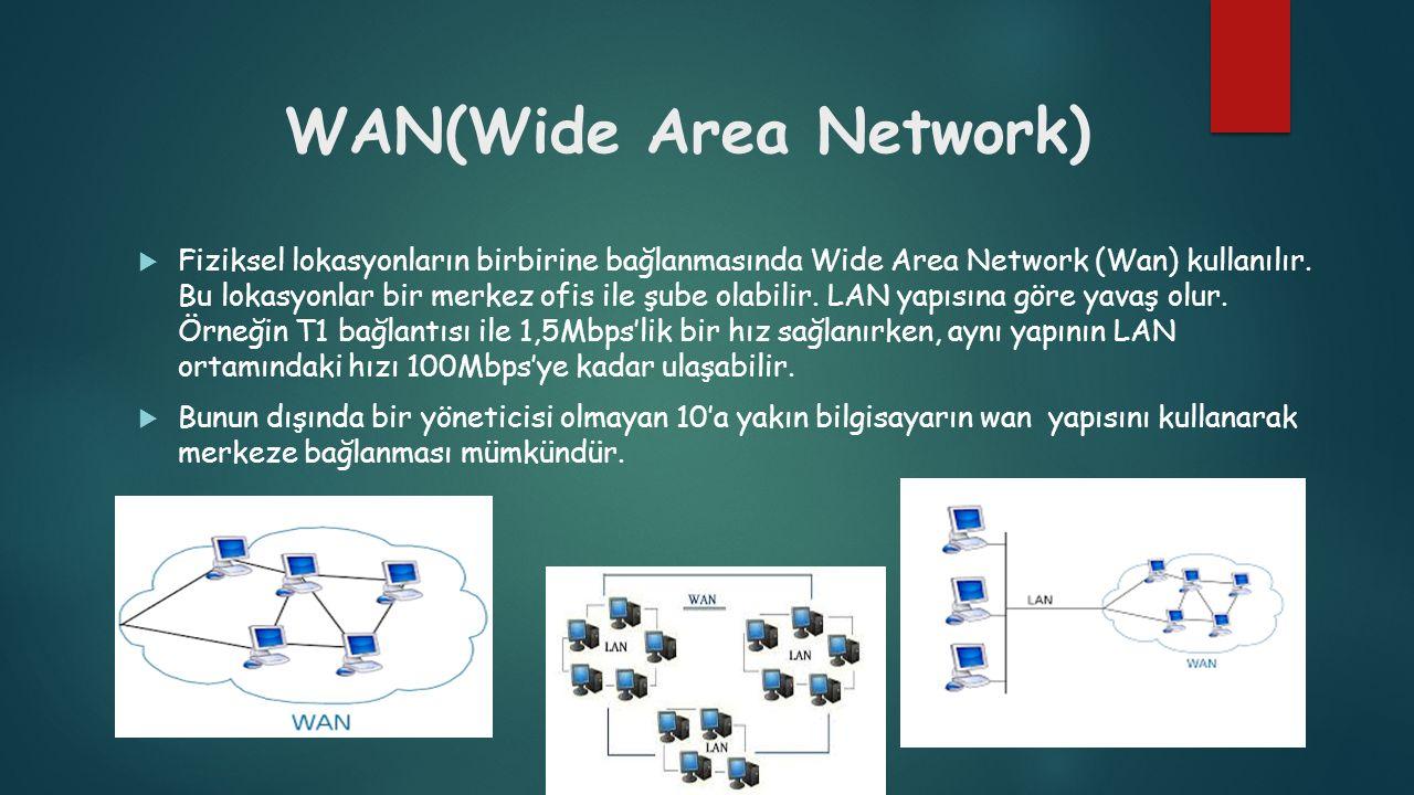 WAN(Wide Area Network)