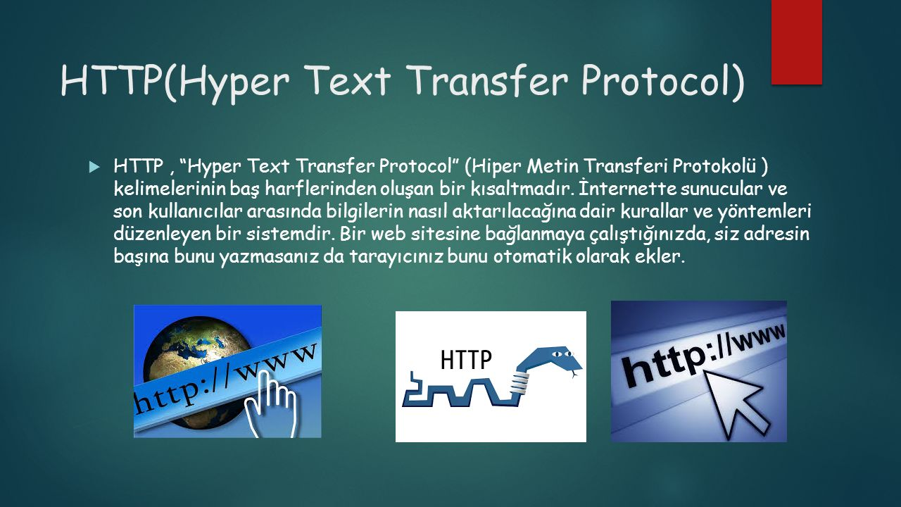 HTTP(Hyper Text Transfer Protocol)
