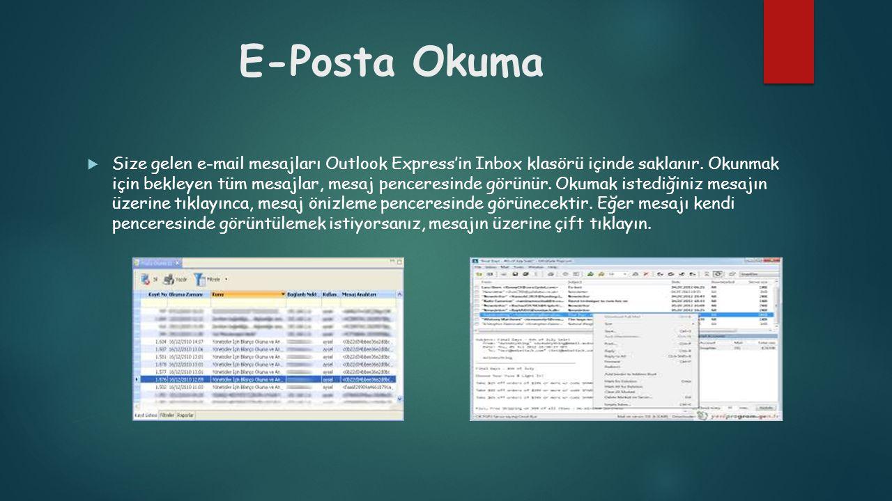 E-Posta Okuma