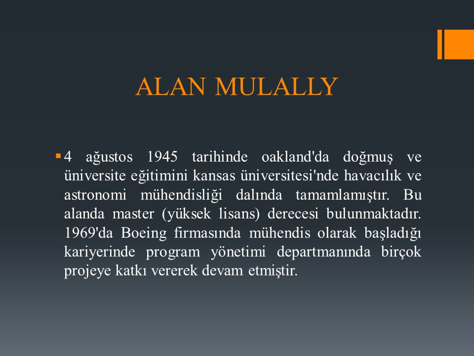 ALAN MULALLY
