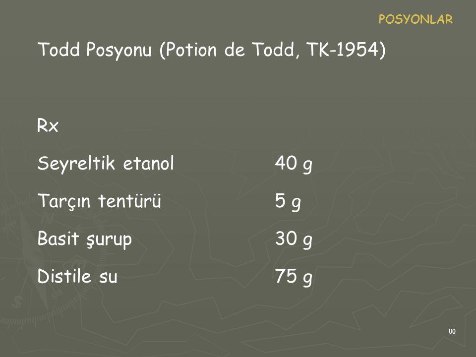 Todd Posyonu (Potion de Todd, TK-1954)