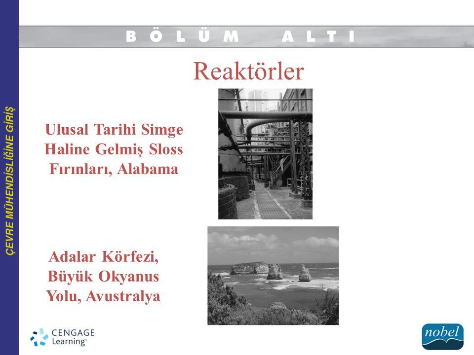 Reaktörler Ulusal Tarihi Simge Haline Gelmiş Sloss Fırınları, Alabama