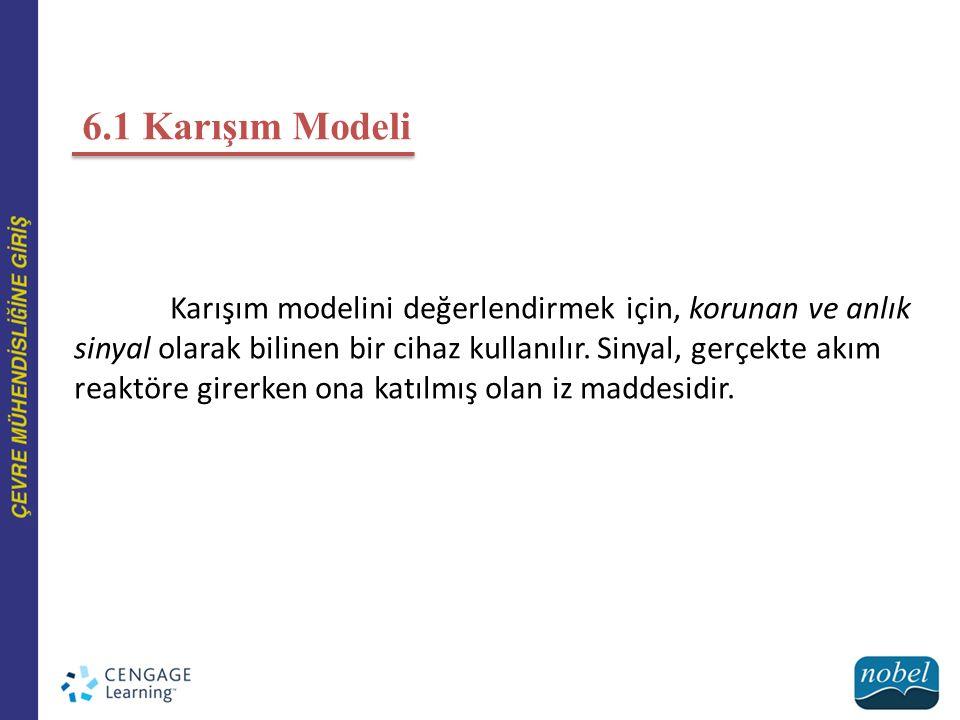 6.1 Karışım Modeli