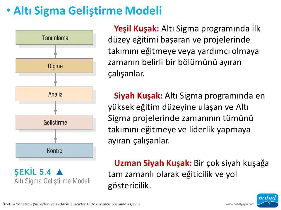 Altı Sigma Geliştirme Modeli