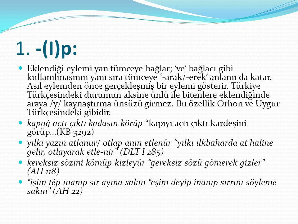 1. -(I)p: