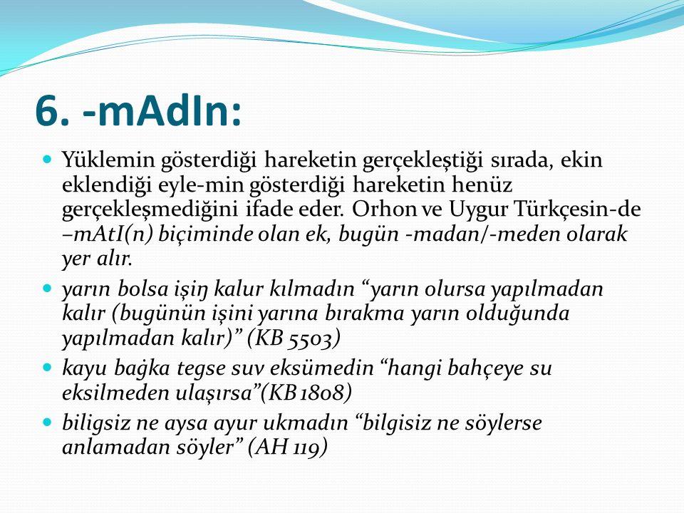 6. -mAdIn: