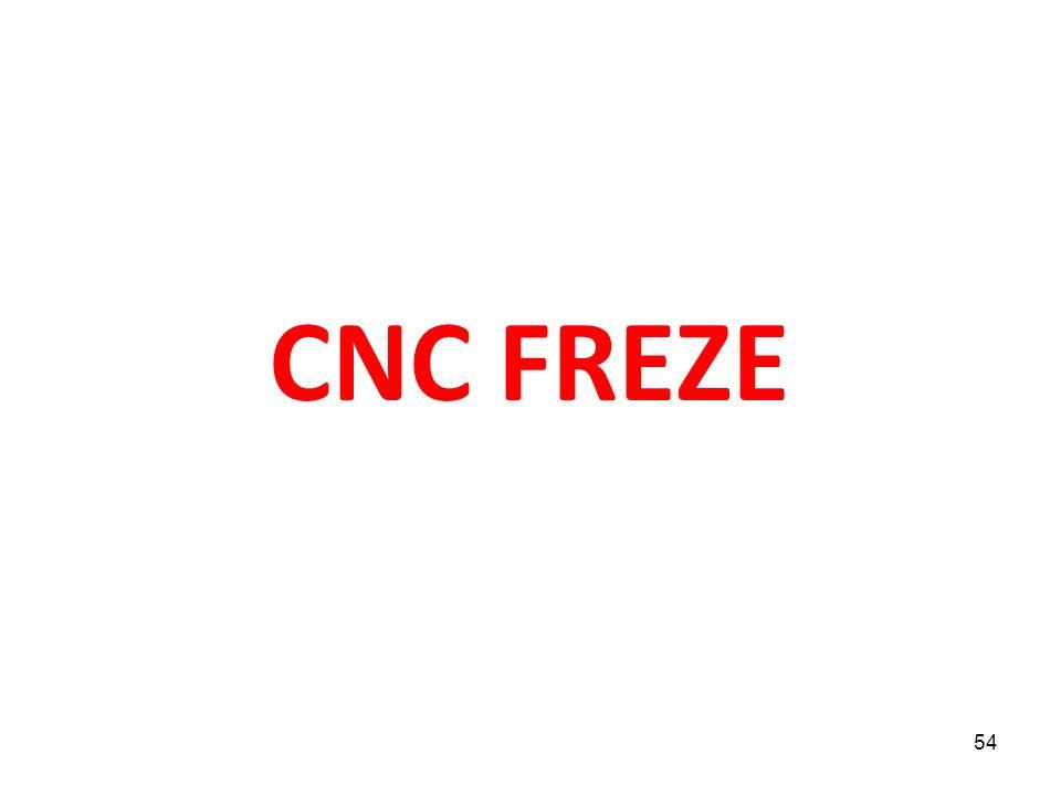 CNC FREZE