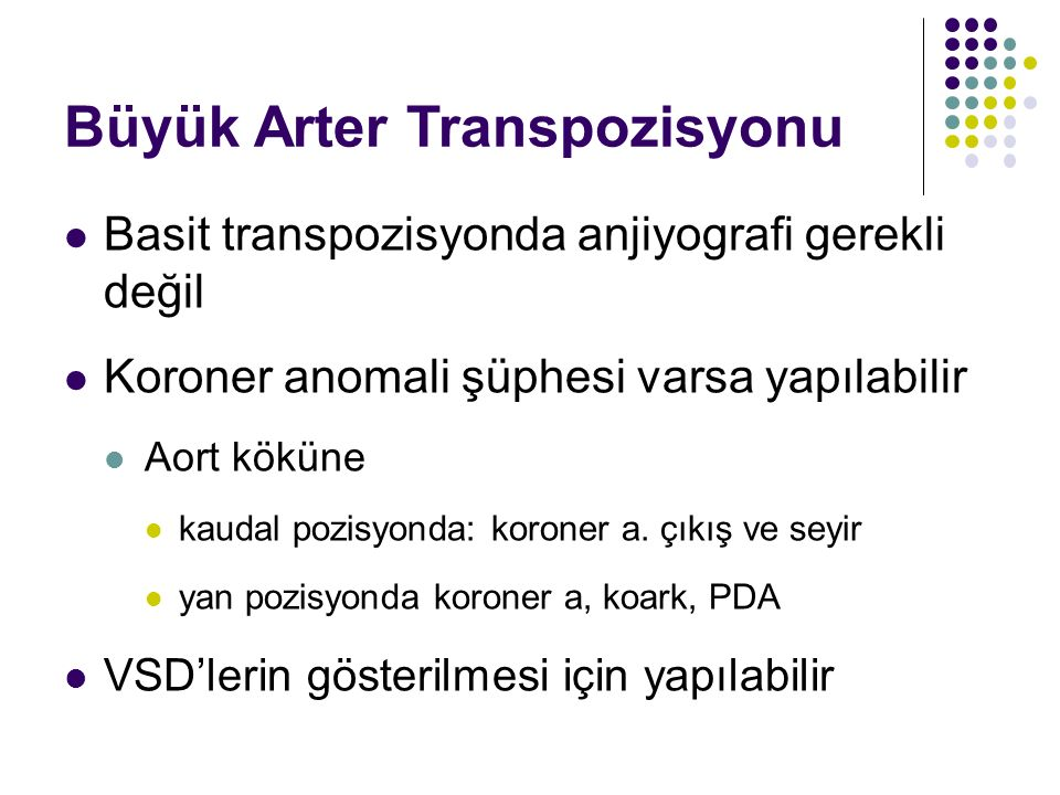Büyük Arter Transpozisyonu