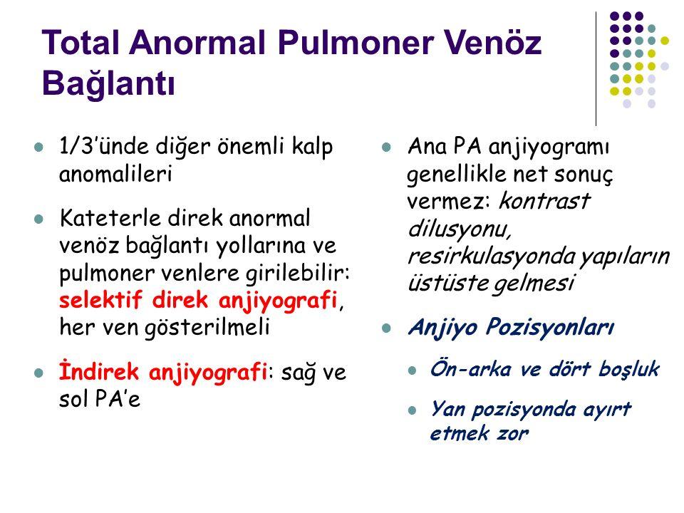 Total Anormal Pulmoner Venöz Bağlantı