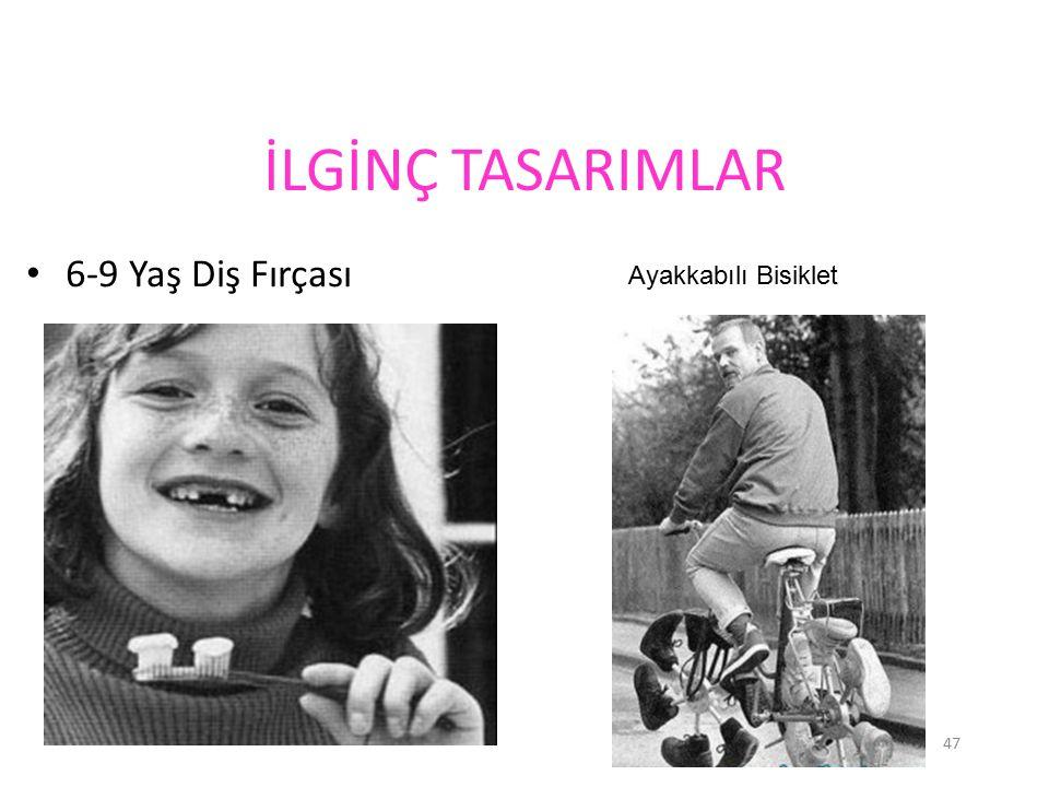 İLGİNÇ TASARIMLAR 6-9 Yaş Diş Fırçası Ayakkabılı Bisiklet
