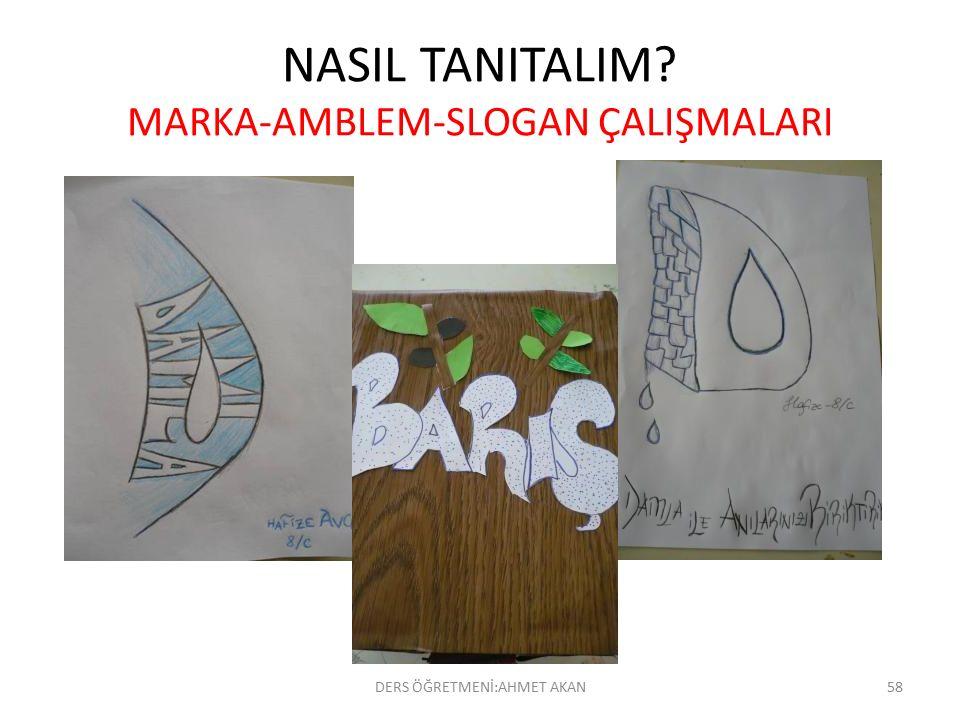 NASIL TANITALIM MARKA-AMBLEM-SLOGAN ÇALIŞMALARI