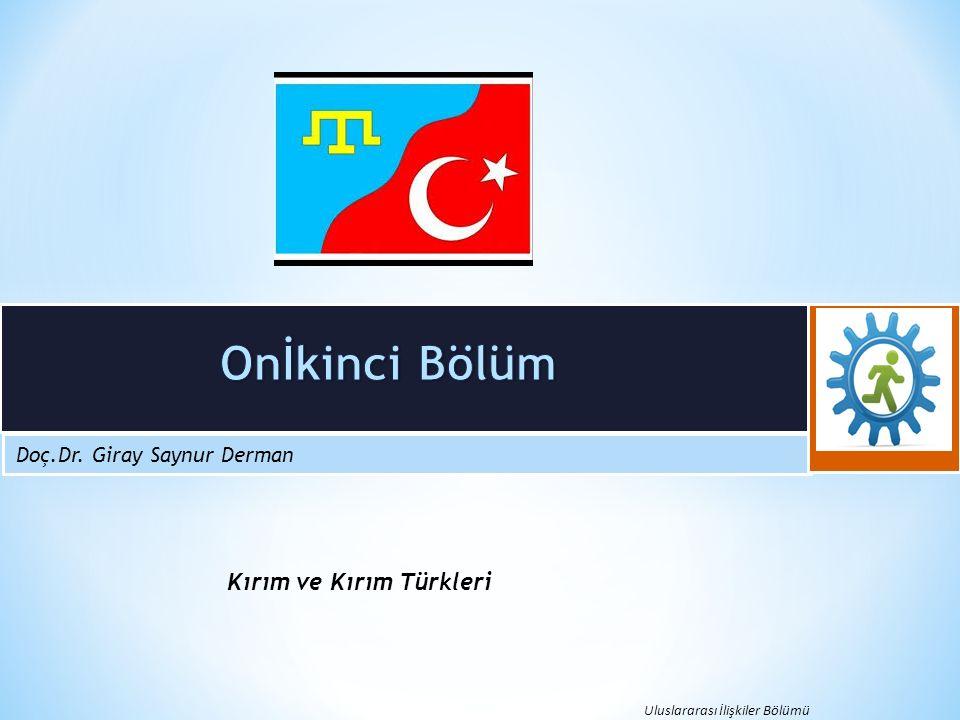 Kırım ve Kırım Türkleri