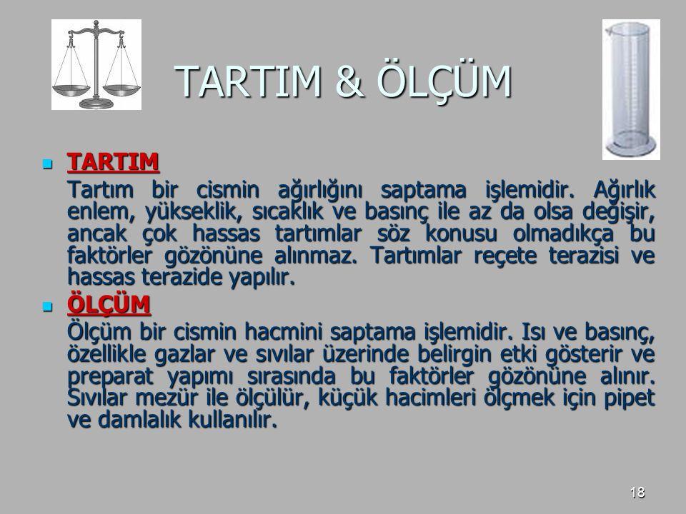 TARTIM & ÖLÇÜM TARTIM.