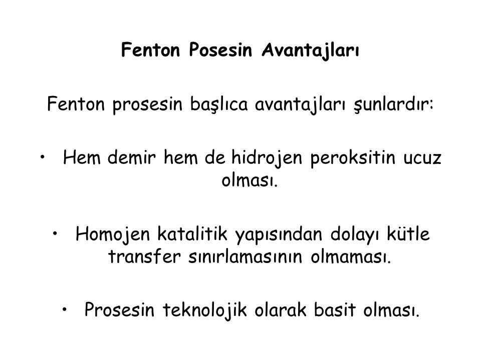 Fenton Posesin Avantajları