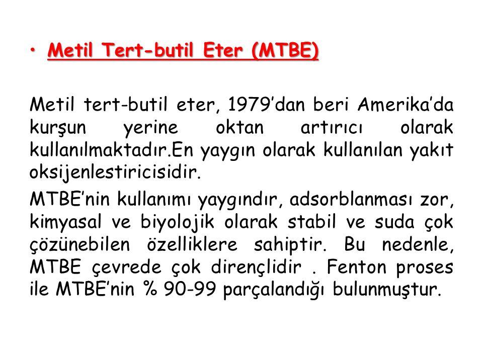 Metil Tert-butil Eter (MTBE)