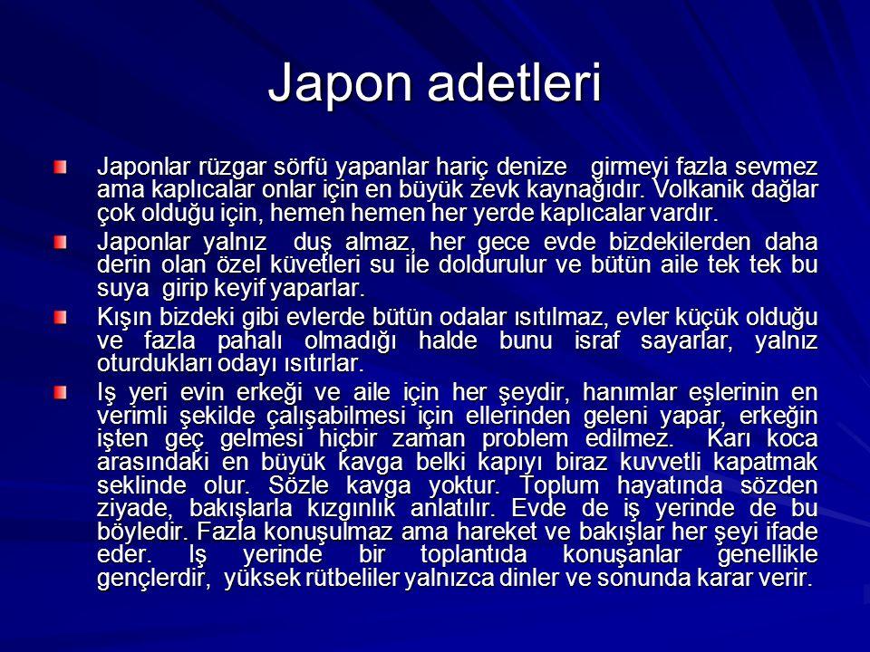 Japon adetleri