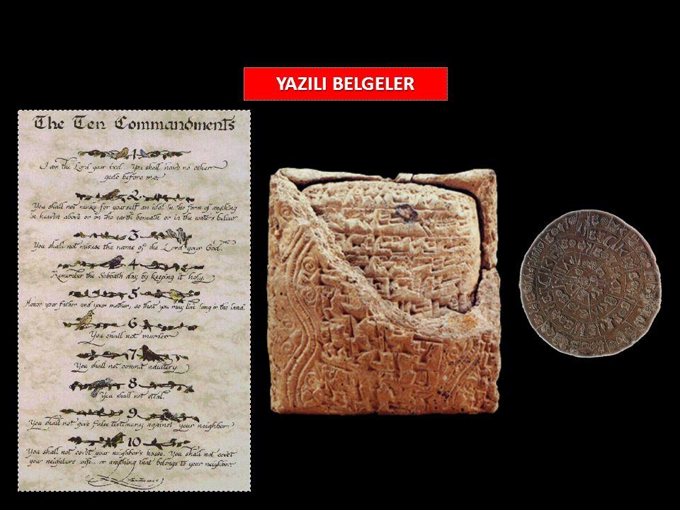 YAZILI BELGELER