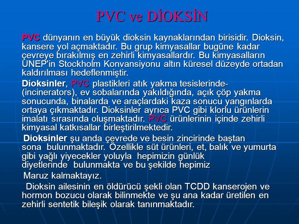 PVC ve DİOKSİN