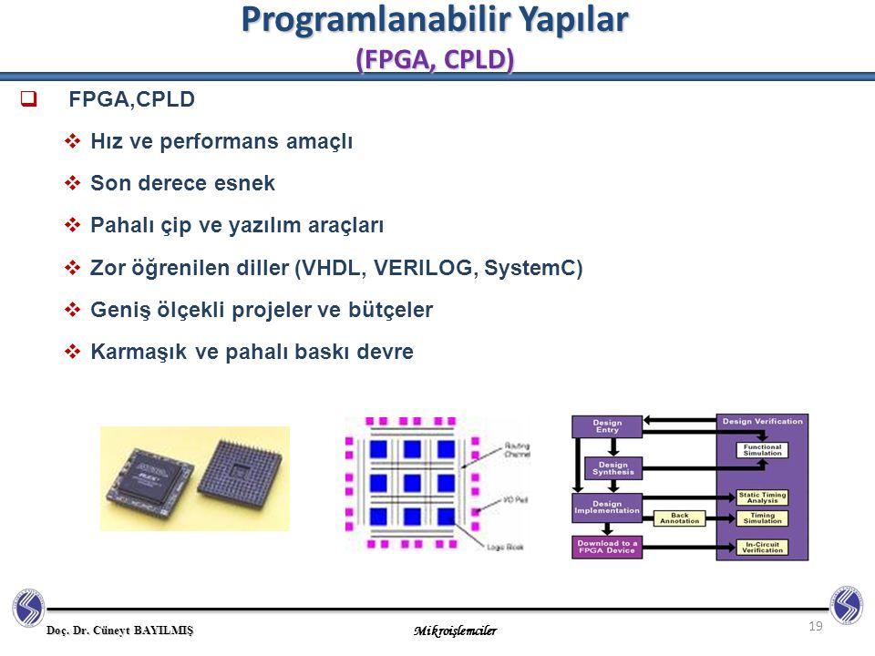 Programlanabilir Yapılar (FPGA, CPLD)