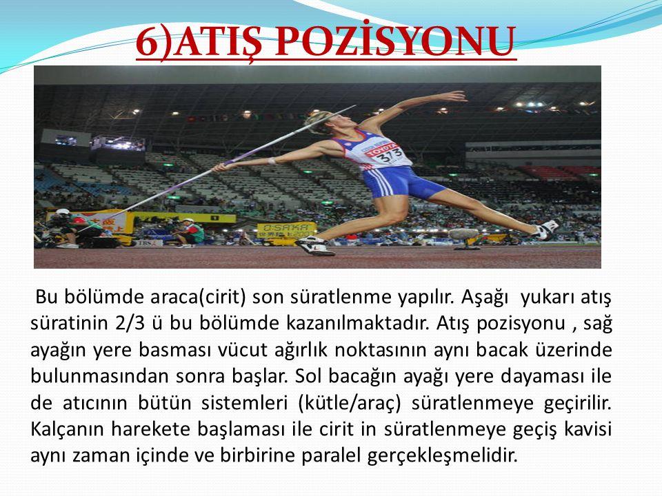 6)ATIŞ POZİSYONU