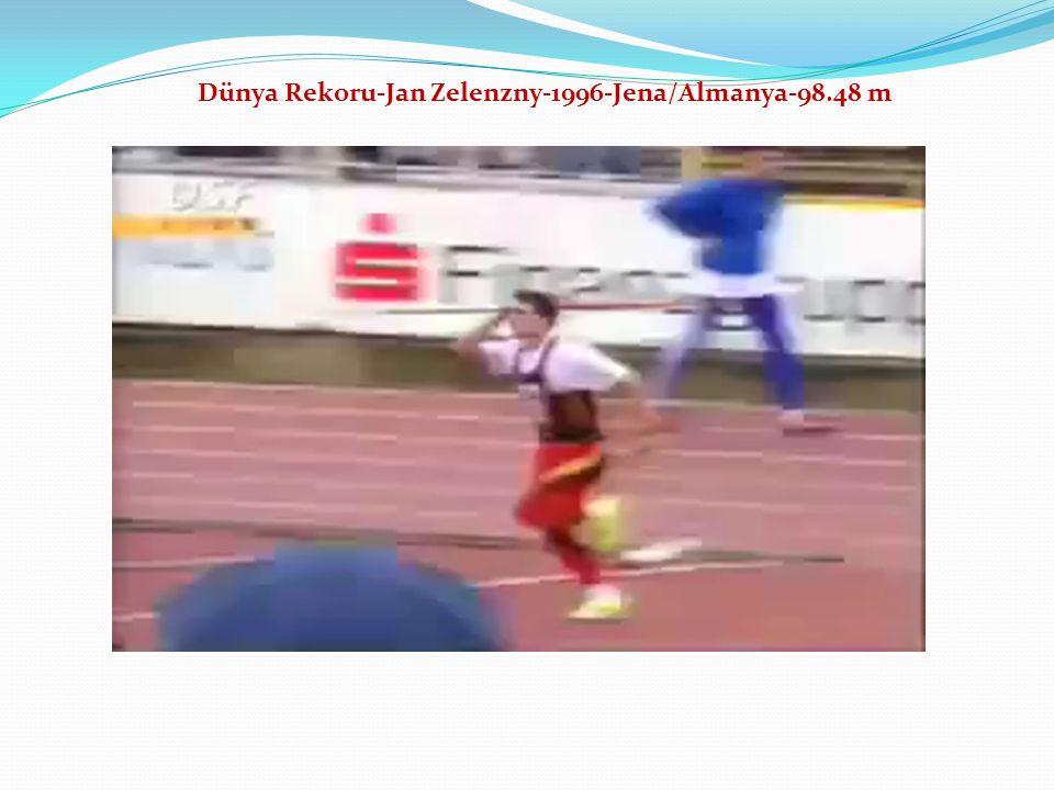 Dünya Rekoru-Jan Zelenzny-1996-Jena/Almanya-98.48 m