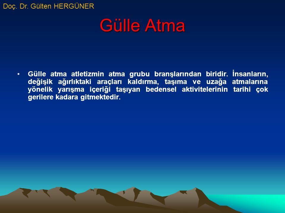 Gülle Atma Doç. Dr. Gülten HERGÜNER
