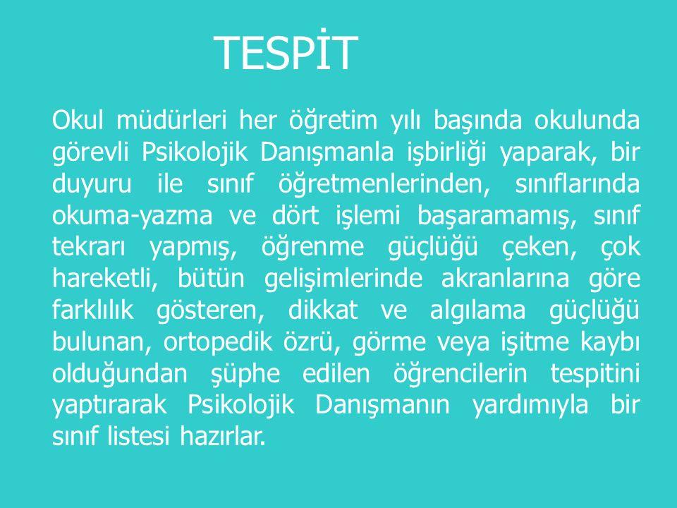 TESPİT