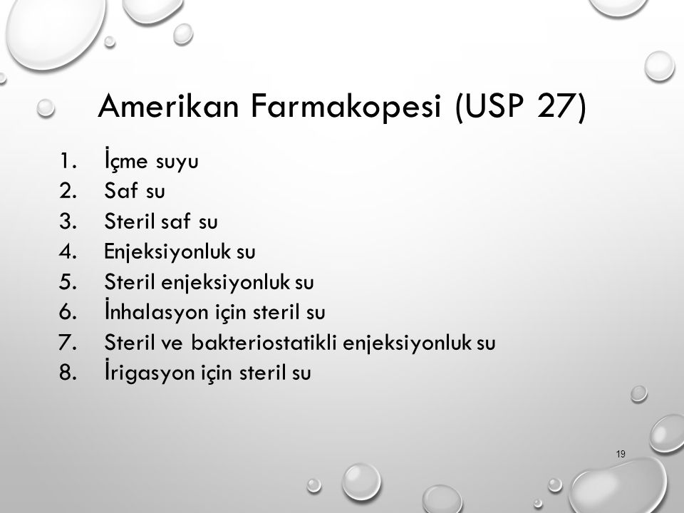 Amerikan Farmakopesi (USP 27)
